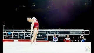 Angelina Melnikova (RUS) FX - 2017 World Championships - Podium Training