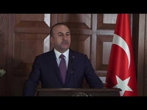 Dışişleri Bakanı Sayın Mevlüt Çavuşoğlu'nun Katar Dışişleri Bakanı ile Ortak Basın Toplantısı