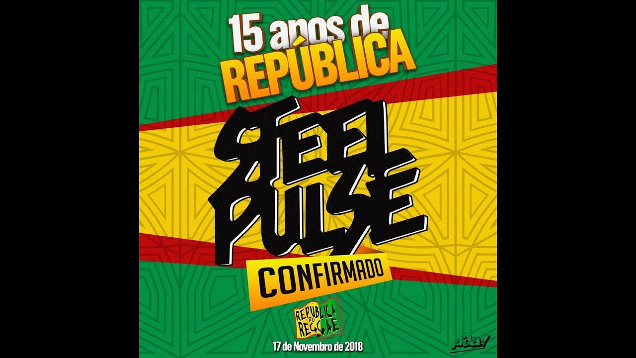 Banda Steel Pulse (ao vivo) República do Reggae 2018