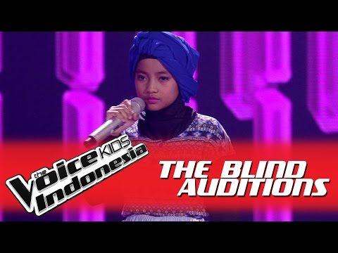 "Fitri ""Break Free"" I The Blind Auditions I The Voice Kids Indonesia GlobalTV 2016"