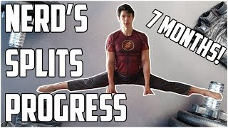 Gambar cover Nerdy Guy Trains the Splits for 7 Months! My Progress Report