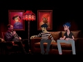 Capture de la vidéo Nme's First Live Interview With Gorillaz