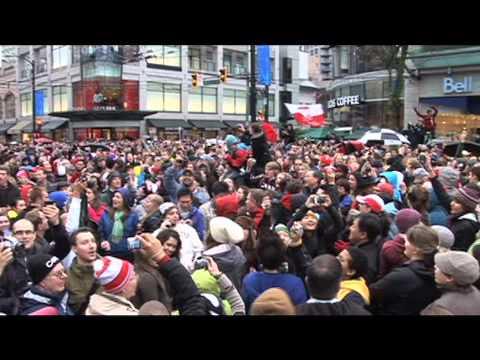 Flash Mob O Canada