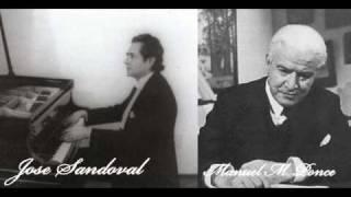 Manuel M. Ponce - Jose Sandoval - Scherzino Mexicano - Piano