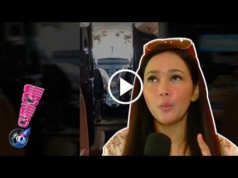 Ke Bangkok Bareng Anak, Maia Naik Jet Privat - Cumicam 09 April 2017