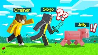 PLAYING SPEEDRUNNER vs. HUNTERS As A PIG! (Minecraft)