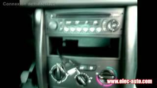 Lire des MP3 sur clé USB ou carte SD avec l'autoradio d'origine - Peugeot 207 avec autoradio RD4