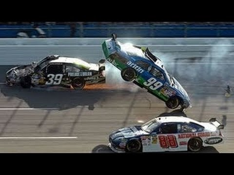 Top 10 NASCAR Crashes 2015