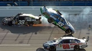 Repeat youtube video Top 10 NASCAR Crashes 2017