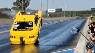 Fastest Stick Shift Mustang in World Blasts to 7s!!!