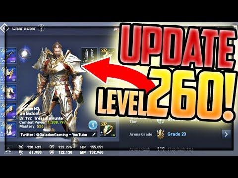 Level 260!!! HUGE UPDATE! Lineage 2: Revolution Top Level Gameplay