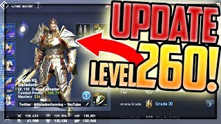Level 260!!! HUGE UPDATE! Lineage 2: Revolution Top Level Gameplay