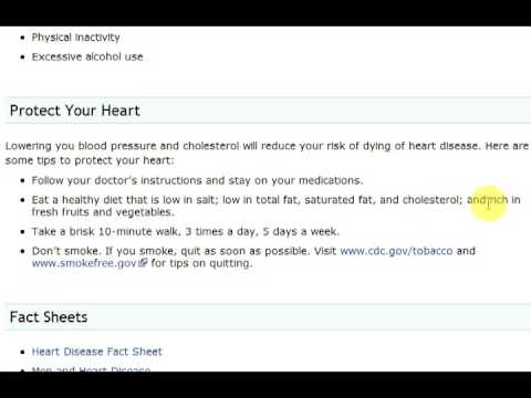 The Number One Killer: Heart Disease