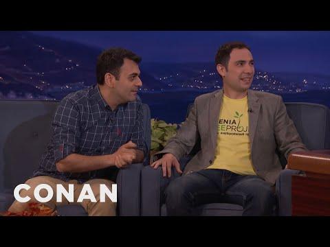 ArmComedy's Sergey & Narek Teach Conan Some Colorful Armenian Phrases  - CONAN on TBS