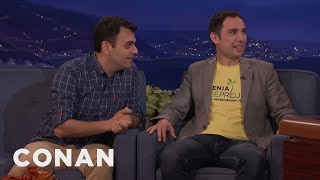 ArmComedy's Sergey & Narek Teach Conan Some Colorful Armenian Phrases  - CONAN on TBS