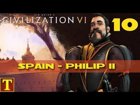 Civilization 6 - Philip II Spain - part 10