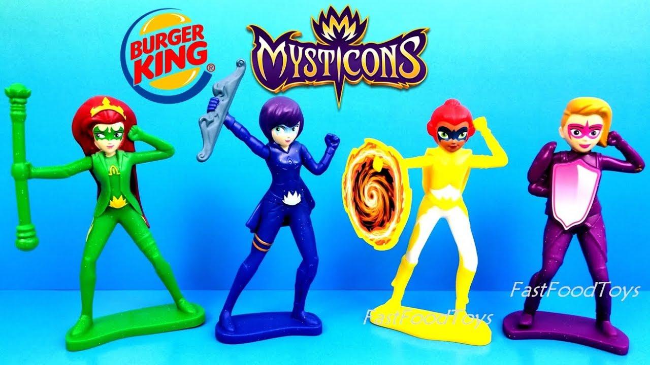 2018 burger king mysticons