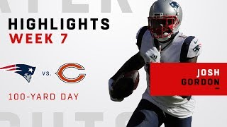 Josh Gordon's 100-Yd Day vs. Bears