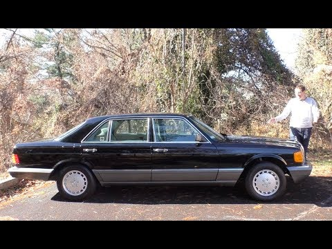 Here s a Tour of a 150,000 Mercedes S Class ... From 1991