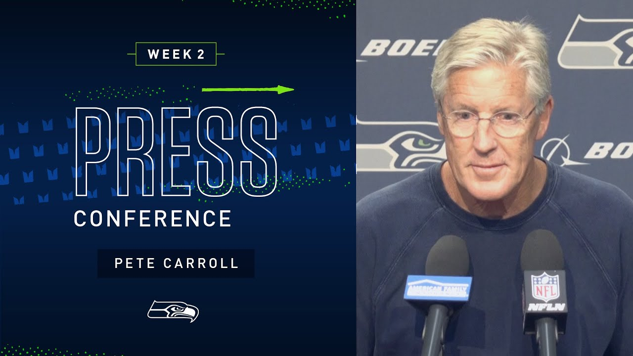 Seven Takeaways From Seahawks Coach Pete Carroll's Season ...