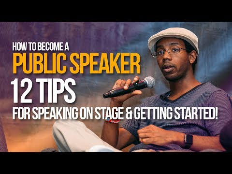 How to Become a Public Speaker: 12 Tips for Becoming a Public Speaker