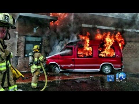 Matt Gregory on injuries in crash, fire at McDonald's