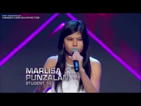 Marlisa Punzalan : Never Be The Same - The X Factor Australia 2014 BOOTCAMP