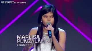 Marlisa Punzalan : Never Be The Same - The X Factor Australia 2014 BOOTCAMP