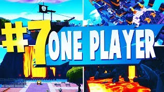 TOP 7 MOST FUN SINGLE PLAYER Creative Maps In Fortnite | Fortnite Single Player Map CODES