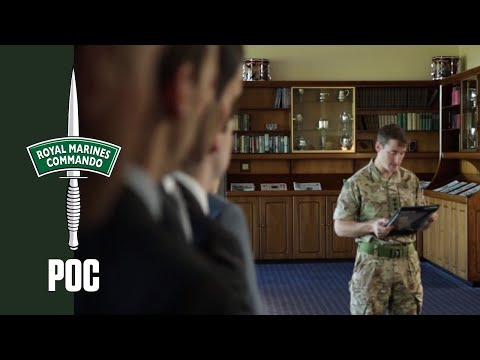 Royal Marines Potential Officer Course -  Day 1