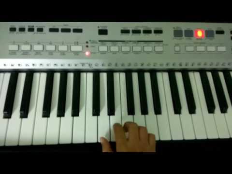Mujhe kuch tumse hai kehna song on piano by Tathagat
