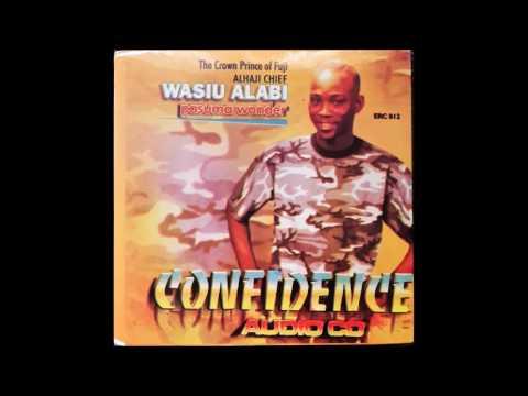 Download WASIU ALABI PASUMA CONFIDENCE (COMPLETE ALBUM)1998