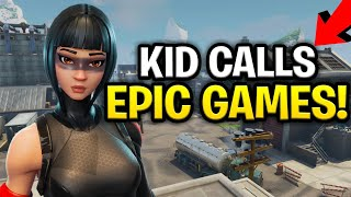 Psycho Scammer Calls Epic Games On Me! (Scammer Gets Scammed) Fortnite Save The World
