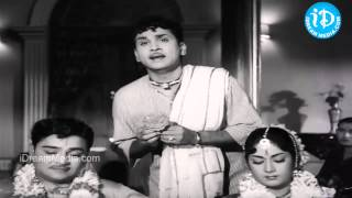 Muddabanthi Poovulo Song - Mooga Manasulu Movie Songs - Nageshwar Rao - Savitri - Jamuna