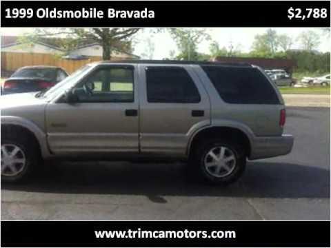 Oldsmobile Bravada 1999 1999 Oldsmobile Bravada Used