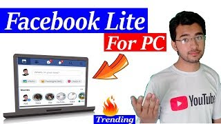 Gambar cover Facebook Lite in Pc | fast & safe Facebook browsing | Lite social Media