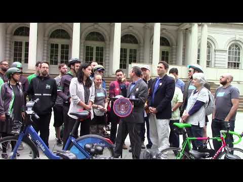 2018 Fifth Annual Progressive Caucus Bike to Work Day