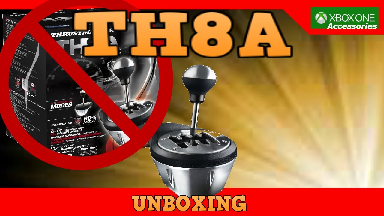 TH8A shifter unboxing for thrustmaster tx race wheel