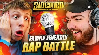 FAMILY FRIENDLY RAP BATTLES (Sidemen Gaming)