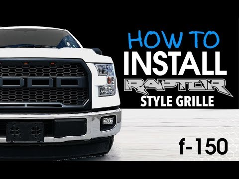 How to install Ford F150 2015-2017 Raptor Style Grille Upgrade