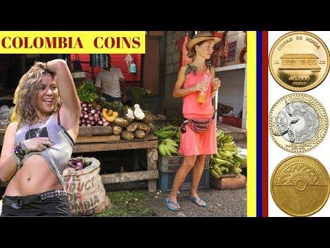 Colombian Coins || Monedas De Colombia