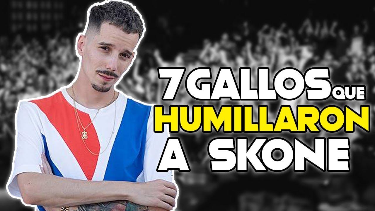 TOP 7 GALLOS QUE HUMILLARON A SKONE