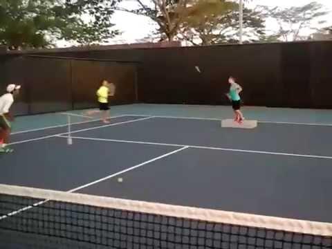 Tenis Nicaragua sport slam instructor juan camilo rodriguez