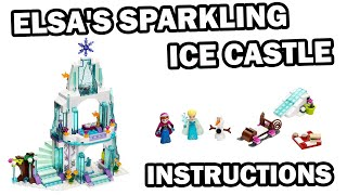 LEGO INSTRUCTIONS - ELSA'S SPARKLING ICE CASTLE - DISNEY - LEGO SET 41062