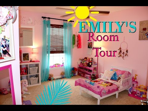TODDLER GIRL ROOM TOUR!
