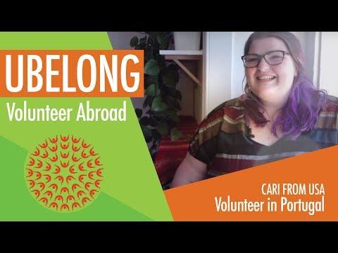 U of Kentucky student volunteers in Portugal!