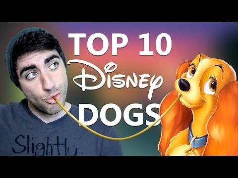 Top 10 Disney Dogs - Up to No Goof