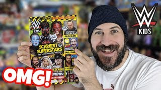 I'M ON THE COVER OF WWE KIDS MAGAZINE!!! Halloween Special Issue Review