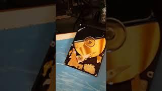 Hard drive Hitachi 750GB Abnormal sound