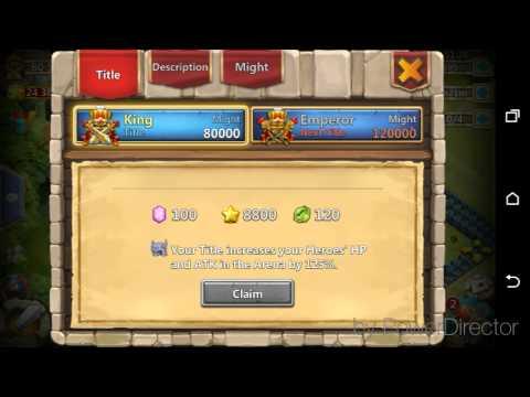 Castle Clash - King Daily Rewards